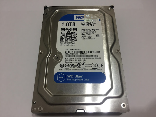 review of western digital blue 1tb hdd 10ezex unboxing treatment