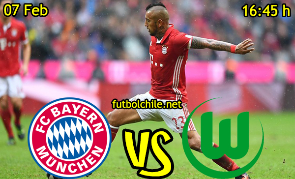 Ver stream hd youtube facebook movil android ios iphone table ipad windows mac linux resultado en vivo, online:  Bayern Munich vs Wolfsburgo