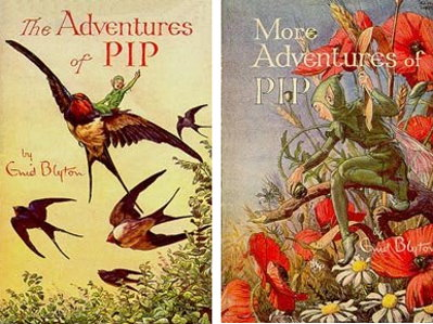 Enid Blyton The adventures of Pip and more adventures of Pip