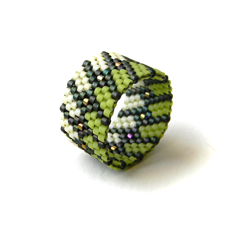 Кольца из бисера (Beaded rings)