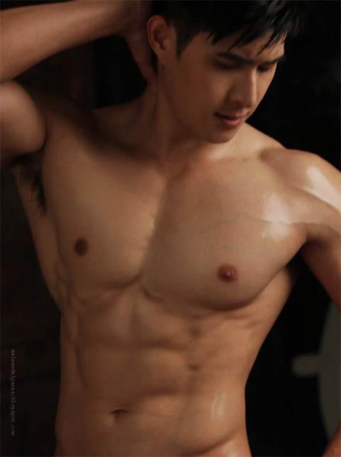 muscular thailand men