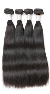 NATURE丨4 BUNDLES VIRGIN HAIR STRAIGHT HAIR丨NATURAL BLACK