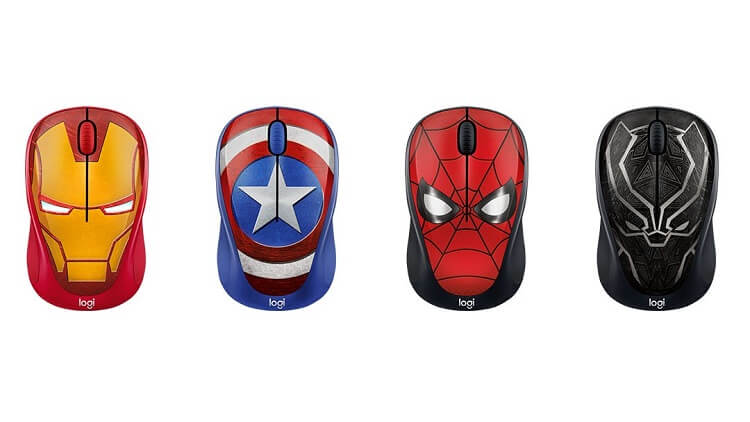 Logitech Outs Marvel Collection