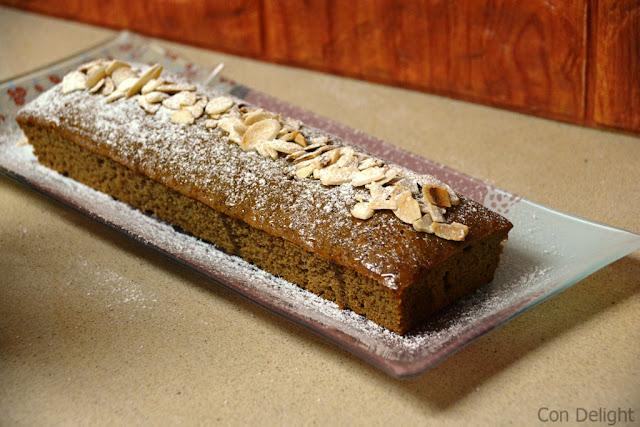 עוגת דבש באינגליש קייק english cake honey cake