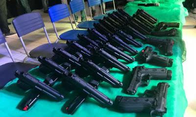 Armas são entregues à Guarda Municipal de Santa Cruz do Capibaribe (PE)
