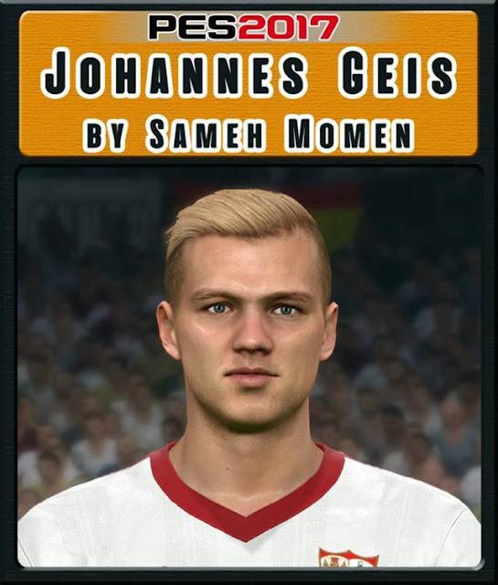 Johannes Geis Face PES 2017