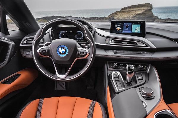Interior BMW i8 Roadster