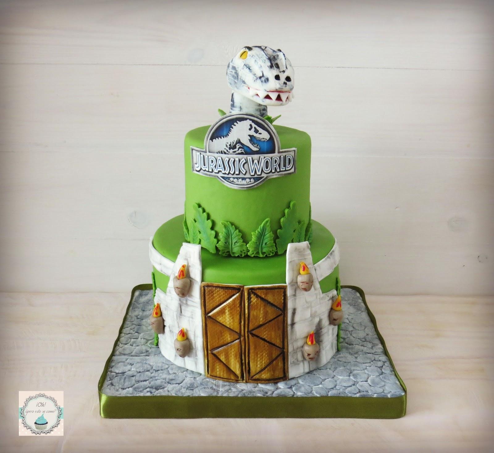 Lego Jurassic World Cake Images : Oh, ?pero esto se come?: Tarta Jurassic World