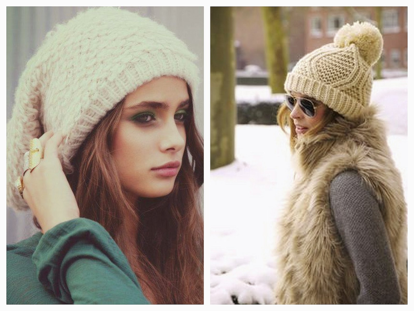 Ways to stay fashionable in the cold moda capital jpg 1600x1200 Gorros de  moda para el 09f741e97000
