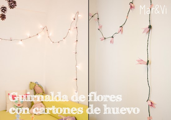 decorar con guirnaldas