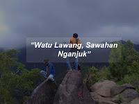 Watu Lawang Nganjuk Sawahan, Pemandangan Cocok Buat Foto-foto