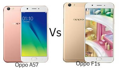 compare-Oppo A57 Vs Oppo F1s