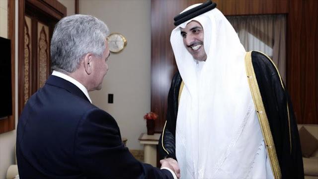 Rusia y Catar firman acuerdo de cooperación militar y técnica