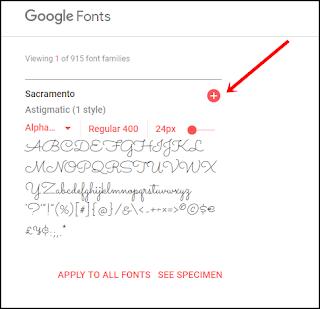 Cara Mengunduh Font Dari Google Fonts