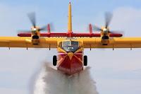 Συνεργασία της πολεμικής αεροπορίας με την αερολέσχη Θεσσαλονίκης για την αντιμετώπιση των πυρκαγιώ