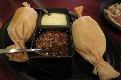 Vatos Urban Tacos, tamale