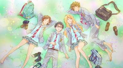 """Your Lie in April vol.2"" Ed. Blu-Ray Coleccionista"