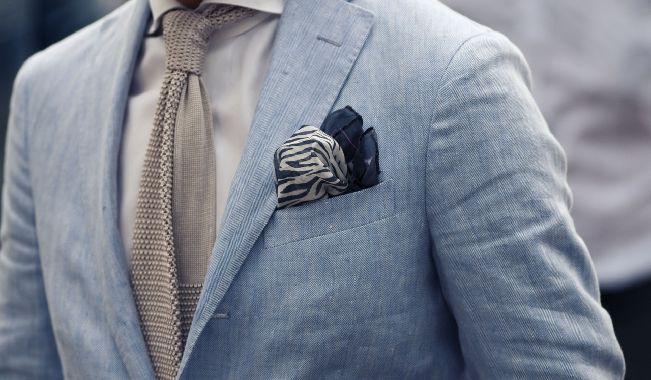 Reiss Pocket Square