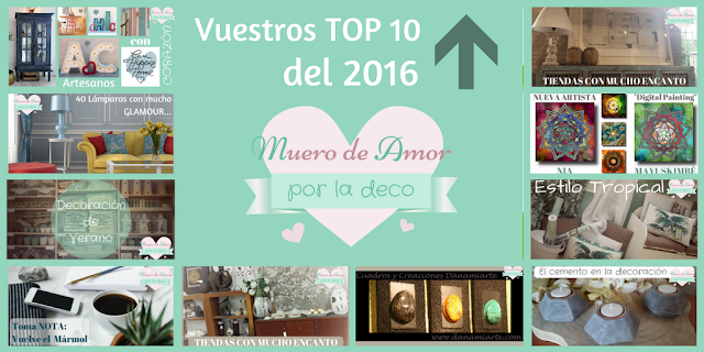 Top 10 de tendencias, artistas y decoración - Blog de decoración (Muero de Amor por la Deco)
