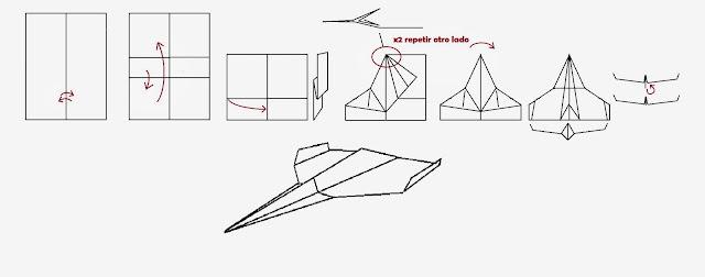 Avión de papel Wing 31