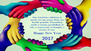 Happy new year 2017 wishes messages together