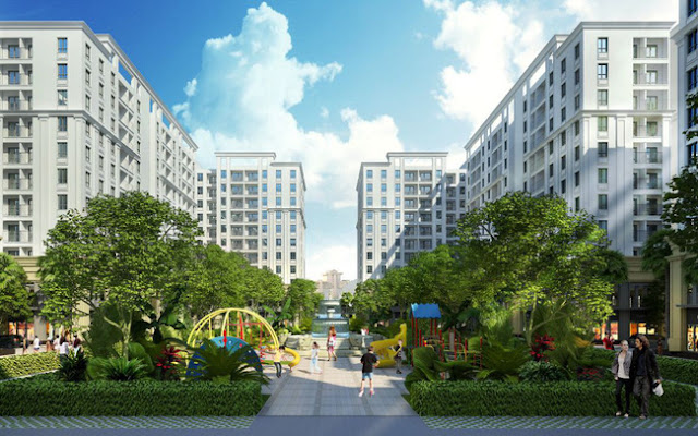 Cảnh quan dự án FLC Tropical City