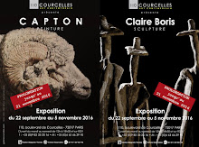 PARIS : PROLONGATION AU 21/11 CAPTON & CLAIRE BORIS À LA GALERIE COURCELLES ART CONTEMPORAIN