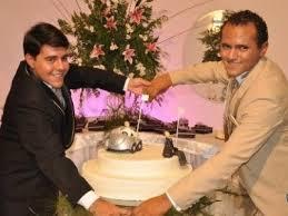 Felipe e Thiago oficializam primeiro casamento gay do Sertão em Cajazeiras