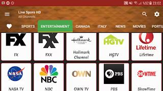 Live Sports HD Super Bir Apk Tüm Şifreli ve Şifresiz Kanallari izleyin