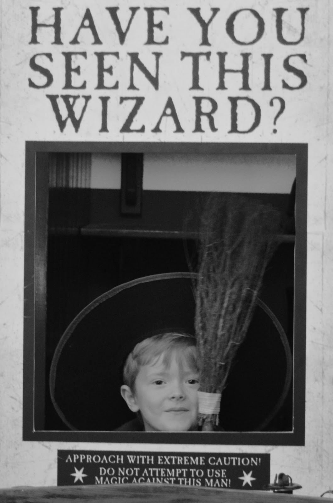 Half Term Hocus Pocus at Preston Park | The North East's very own Diagon Alley - wanted poster in Polive station