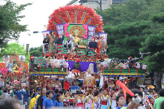 2014 Towada Fall Festival Float Parade 平成26年十和田秋まつり 山車薄暮運行