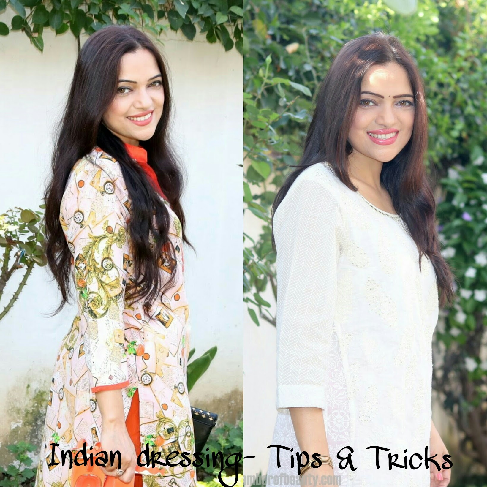 How to look your best in Indian outfits | Indian fashion blogger tips and suggestions