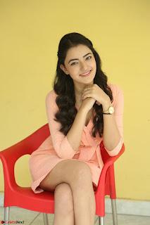 Rukshar Mir in a Peachy Deep Neck Short Dress 099.JPG