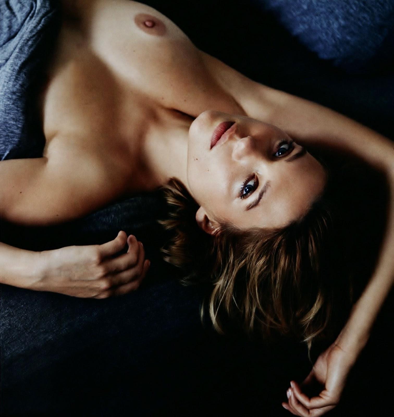 Anais Fabre Nue rimbaud: léa seydoux / mon corps
