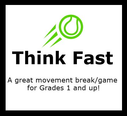 Classbuilding Activity: Think Fast!