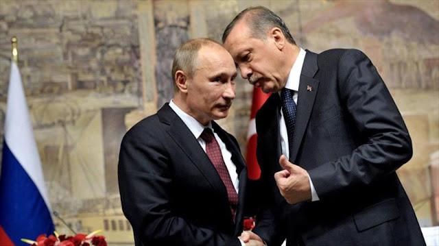 Erdogan se disculpa con Putin por el derribo del caza ruso