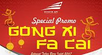 Tiket Promo Kereta Api Spesial Imlek Februari 2016