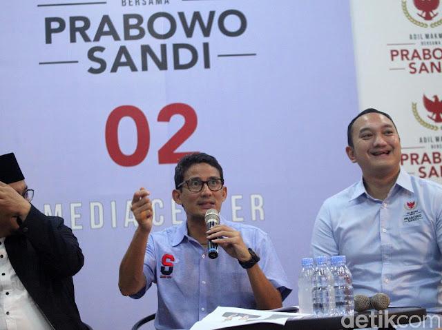 Sandiaga soal Doa Mbah Moen: Beliau Doakan Prabowo dan Jokowi