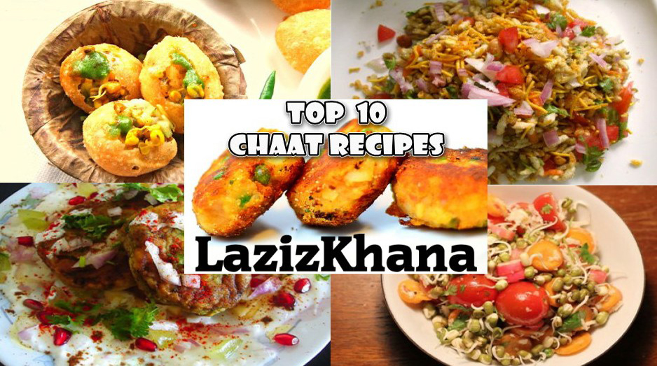 10 Chaat Recipes in Hindi -  10 चाट रेसिपीज इन हिंदी