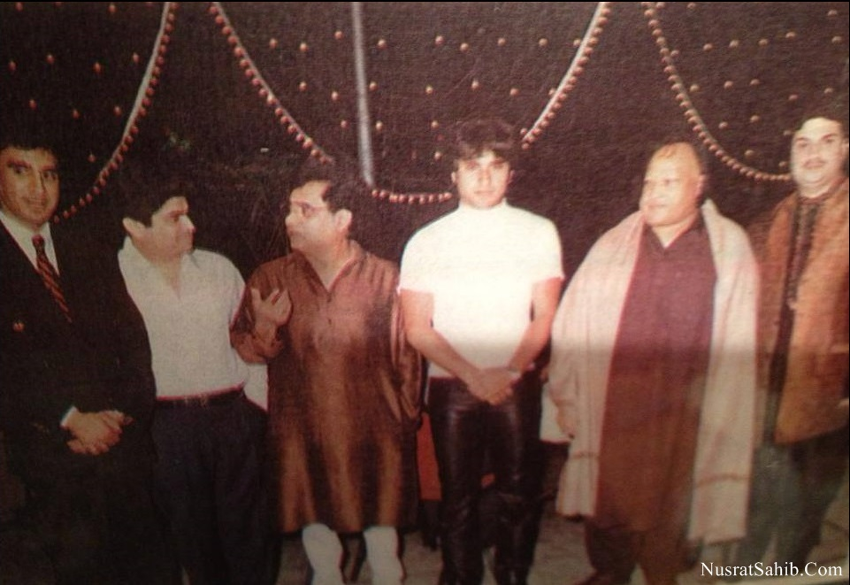 Nusrat Fateh Ali Khan Jagjit Sing Bollywood Actor Saif Ali Khan and Others | NusratSahib.Com