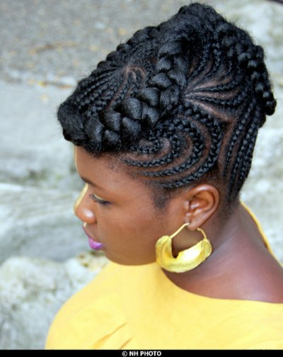 Afromag Cornrows Styles