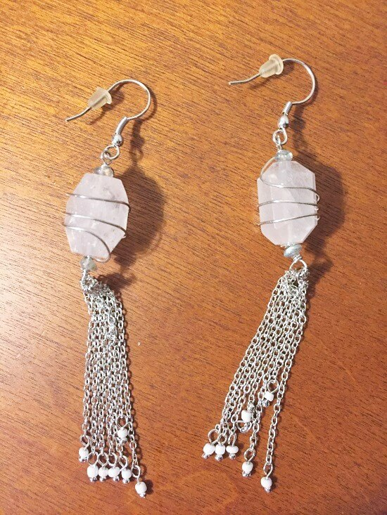 ten thousand villages crystal earrings