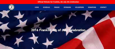 July 4th Coalition webpage screen grab