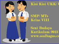 Kisi Kisi UKK Seni Budaya Kelas 8 SMP/ MTs Kurikulum 2013