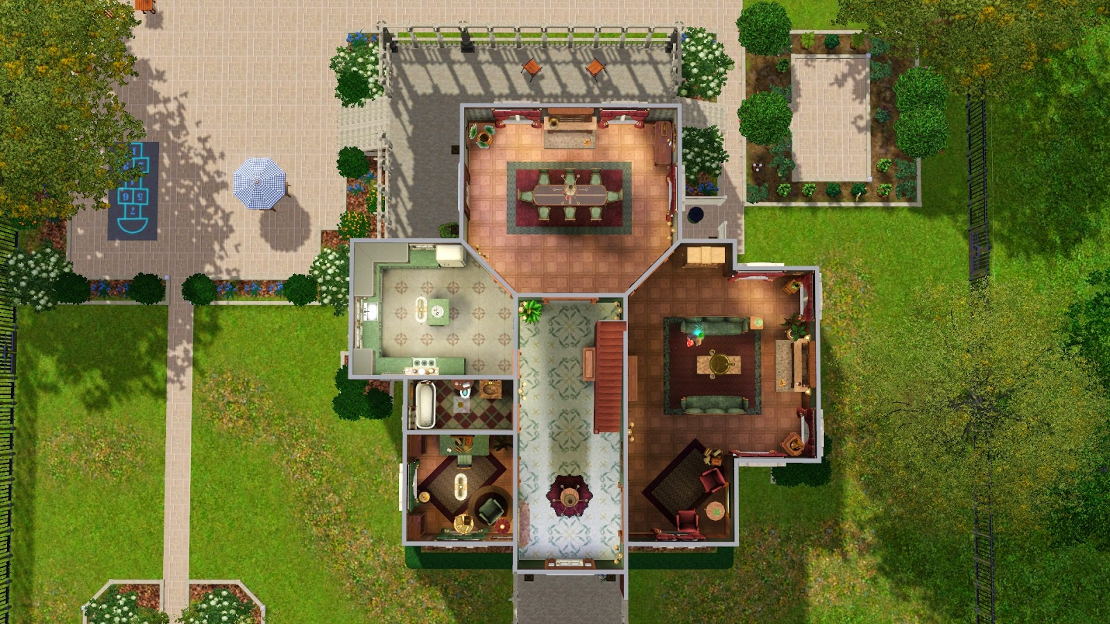 how to get a second floor on sims free play
