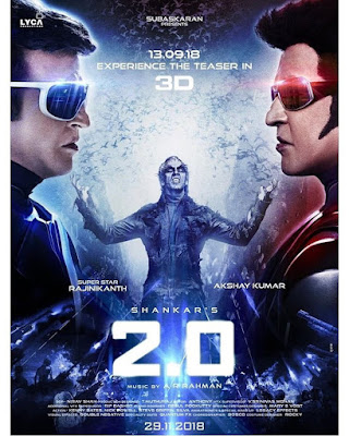 Robot 2.0 2018 Hindi Full Movie Download 400MB Pre-DvdRip