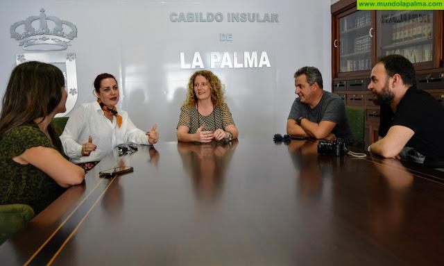 La directora cubana Blanca Rosa Blanco comienza en La Palma la grabación del documental 'Indianos'