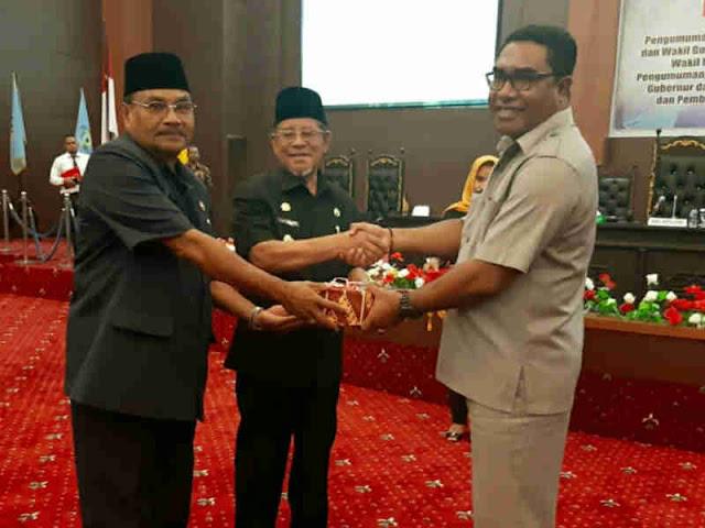 Abdul Ghani Kasuba Sampaikan LKPJ Akhir Masa Jabatan Gubernur Periode 2014 - 2019
