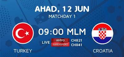 Live Streaming Turki Vs Croatia 12/6/2016