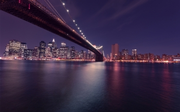 Wallpaper: New York Cityscape. Brooklyn Bridge